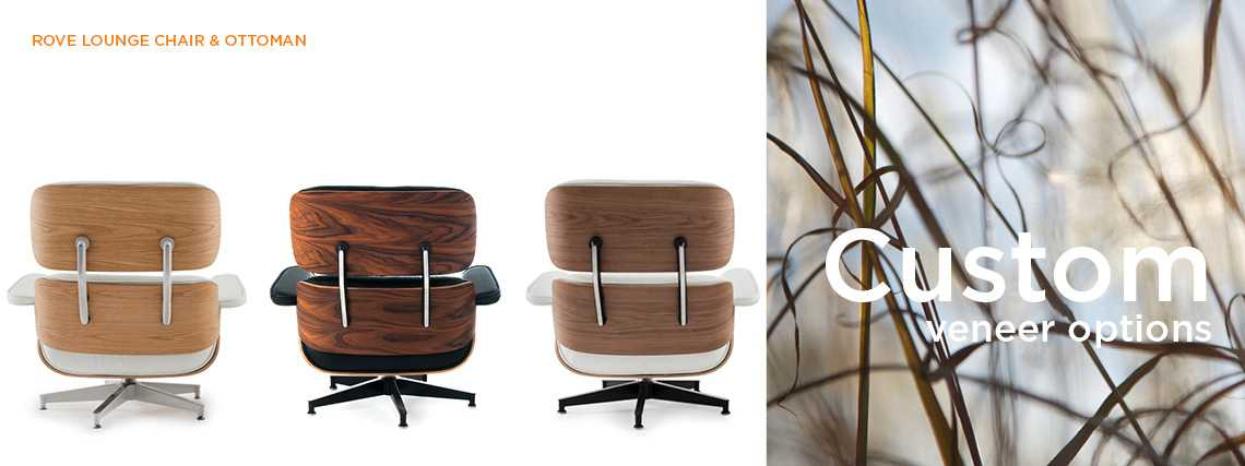 Eames Lounge Chair & Ottoman Custom