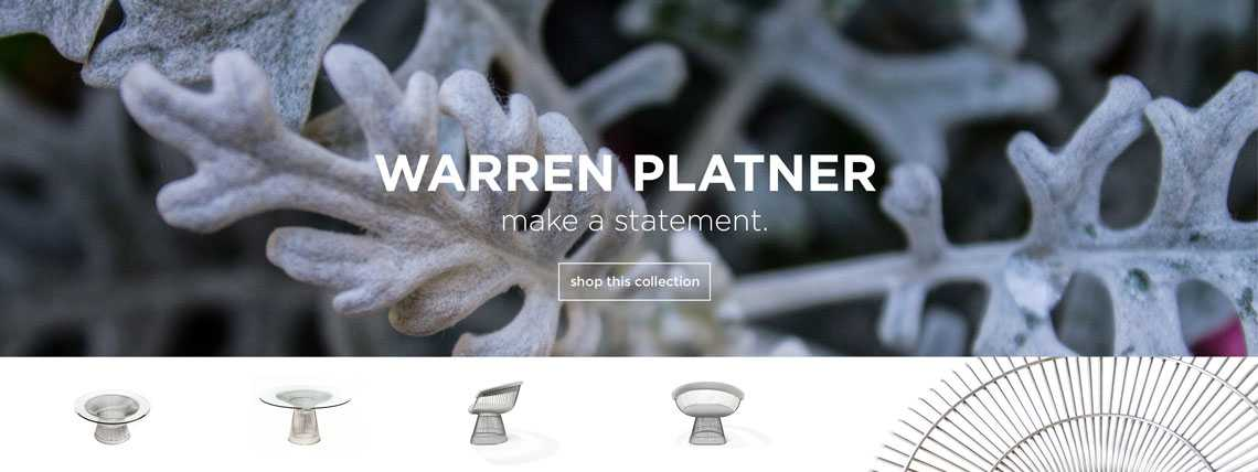 Shop Warren Platner Series
