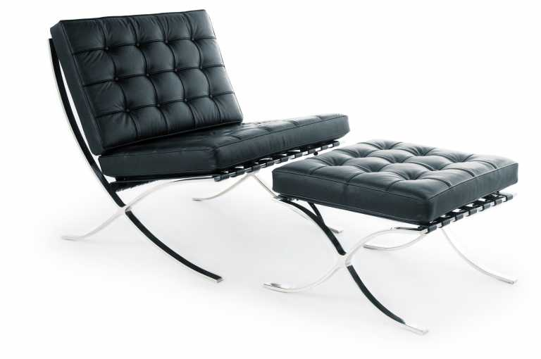 Barcelona Chair & Ottoman