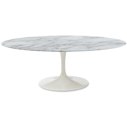 Eero Saarinen Oval Tulip Coffee Table