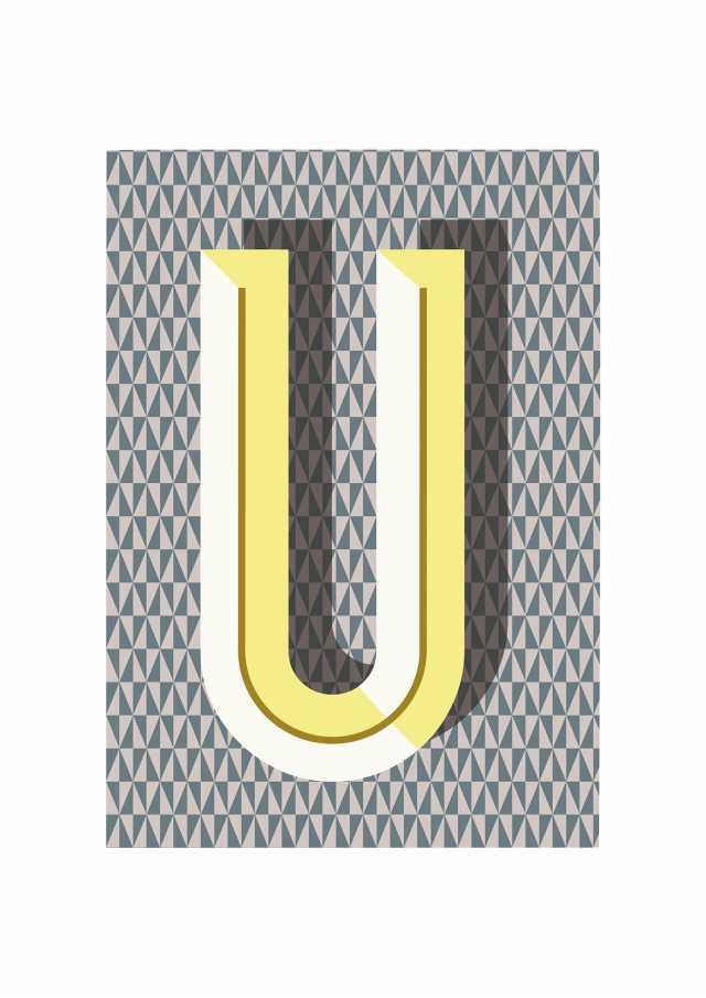 Bau Deco Notebook - U