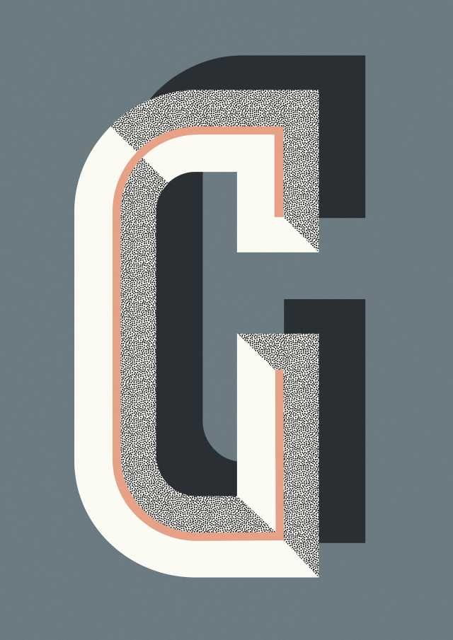Bau Deco Poster - G