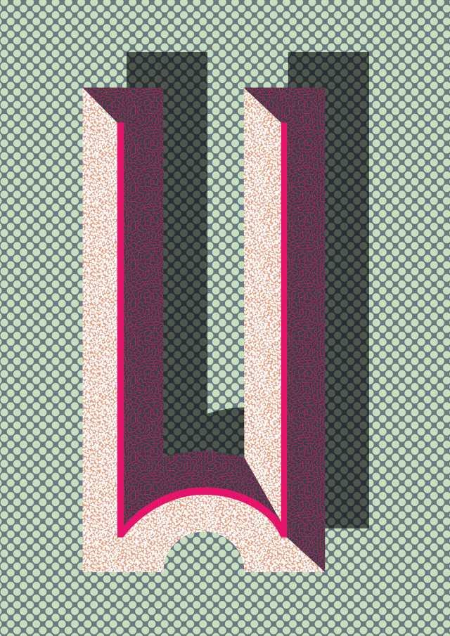 Bau Deco Poster - W