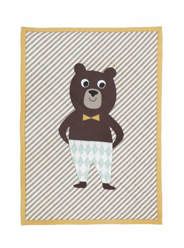 Bear Quilted Blanket