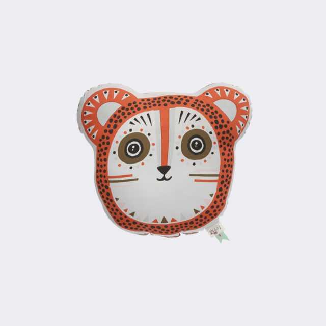 Billy Bear Cushion - Orange