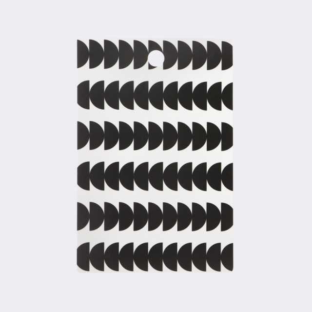 Black Semicircle Cutting Board