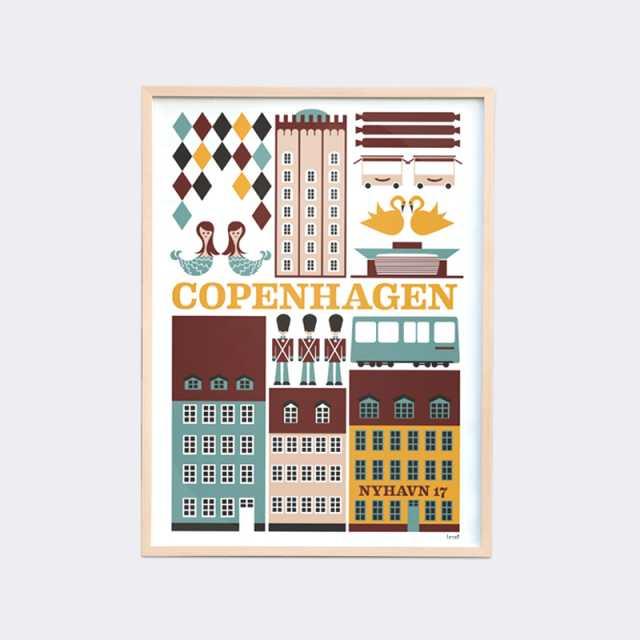 Copenhagen Poster - Large