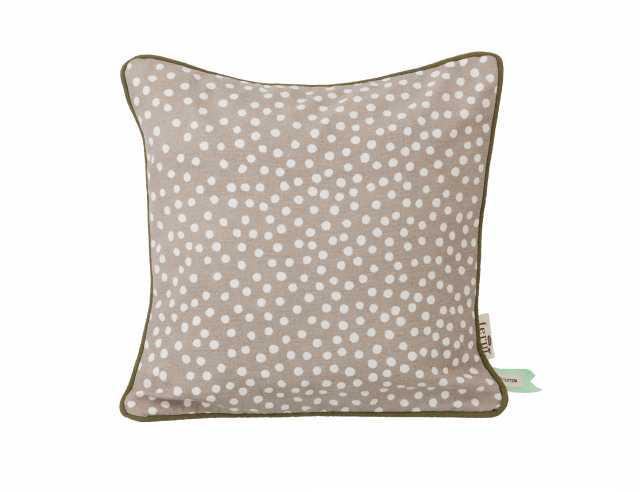 Dots Cushion - Grey
