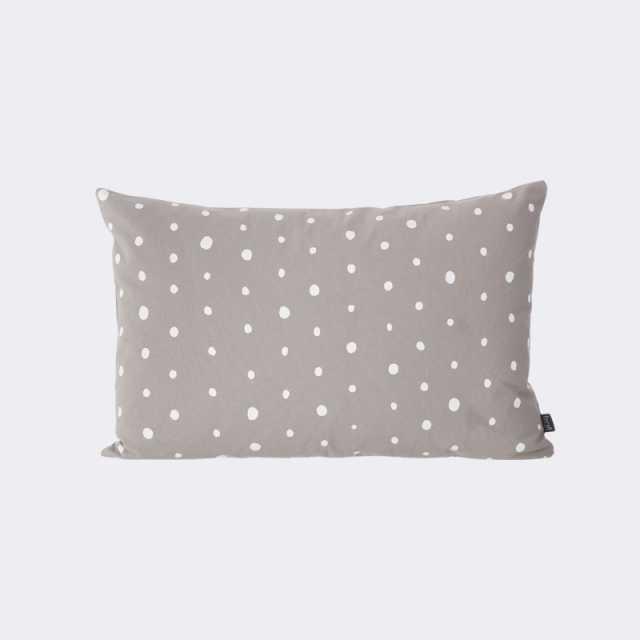 Dotted Cushion - Grey