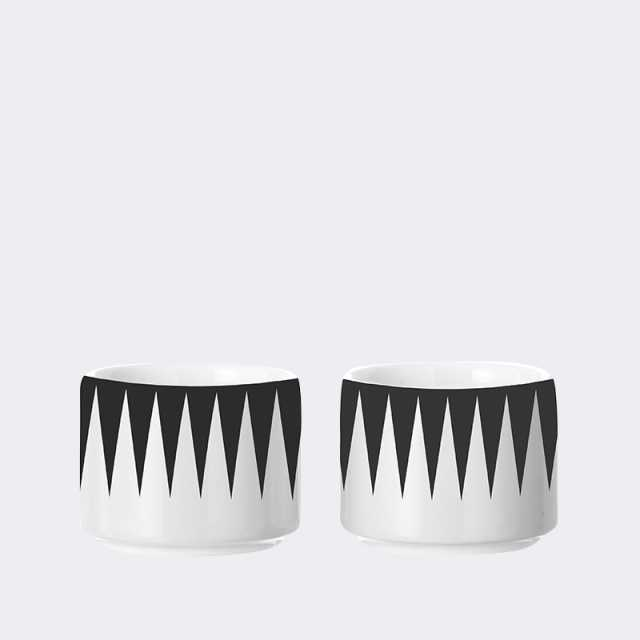 Egg Cups - Black (set of 2)