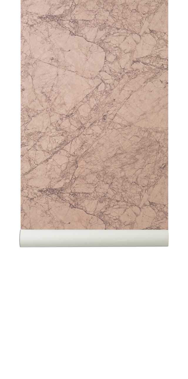 Marble Wallpaper - Rose