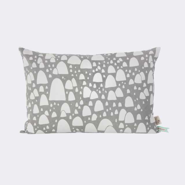 Mountain Tops Cushion - Grey