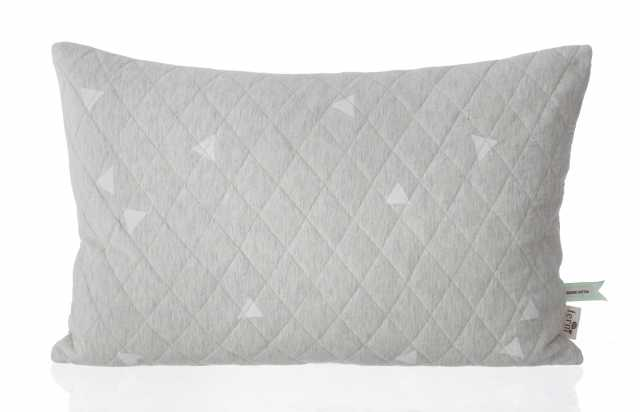 Teepee Quilted Cushion - Grey