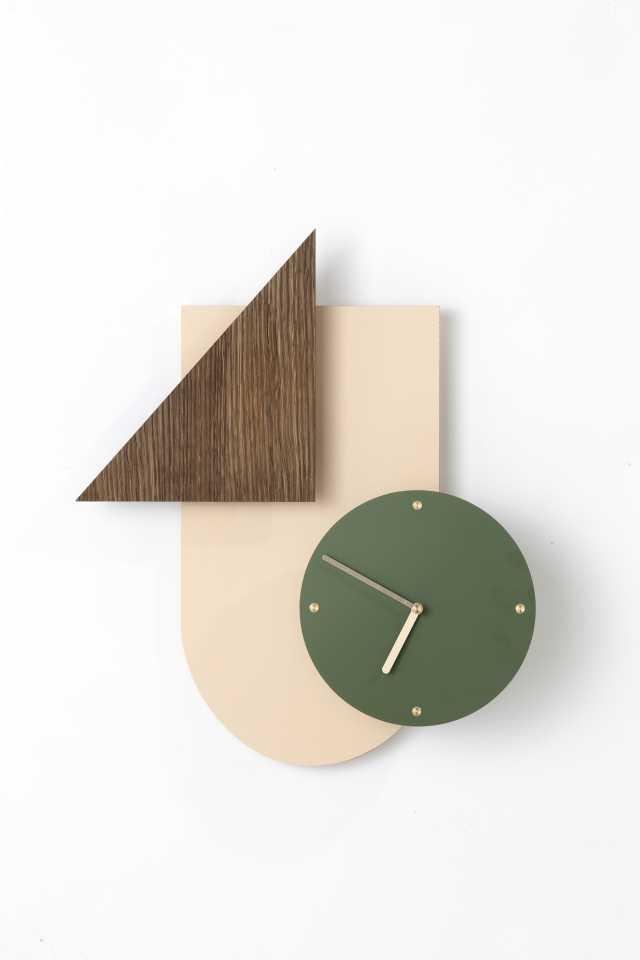Wall Wonder Clock - Rose