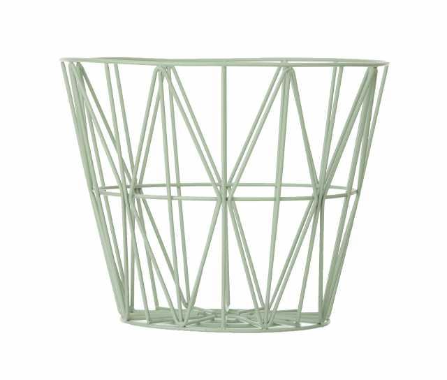 Wire Basket Medium - Mint