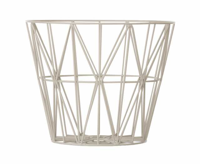 Wire Basket Small - Grey